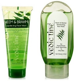vedic line neem face wash gel