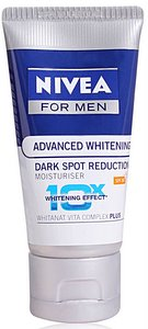 Nivea for Men Advanced Whitening Dark Spot Reduction moisturizer review