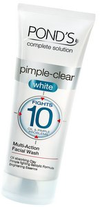 Pond's Pimple Clear White face wash review