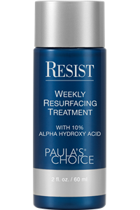 review RESIST Weekly Resurfacing Treatment with 10% AHA
