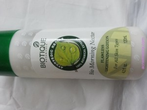 biotique Bio Morning Nectar for acne pimples review