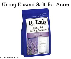 Epsom Salt for Acne, Epsom Salt for Acne Scars, How to use Epsom Salt for Acne