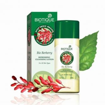 biotique bio berry cleansing lotion cause pimples