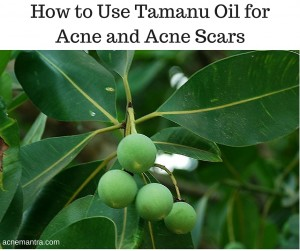How to Use Tamanu Oil for Acne